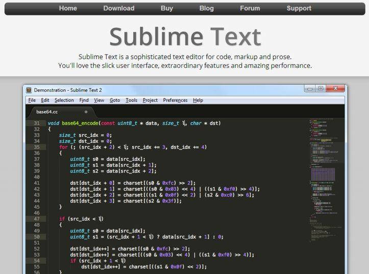 sublimetext2home